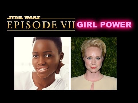Star Wars Episode 7 casts Lupita Nyong'o and Gwendoline Christie  - Beyond The Trailer