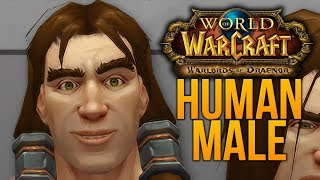 Warlords Of Draenor HUMAN MALE MODEL