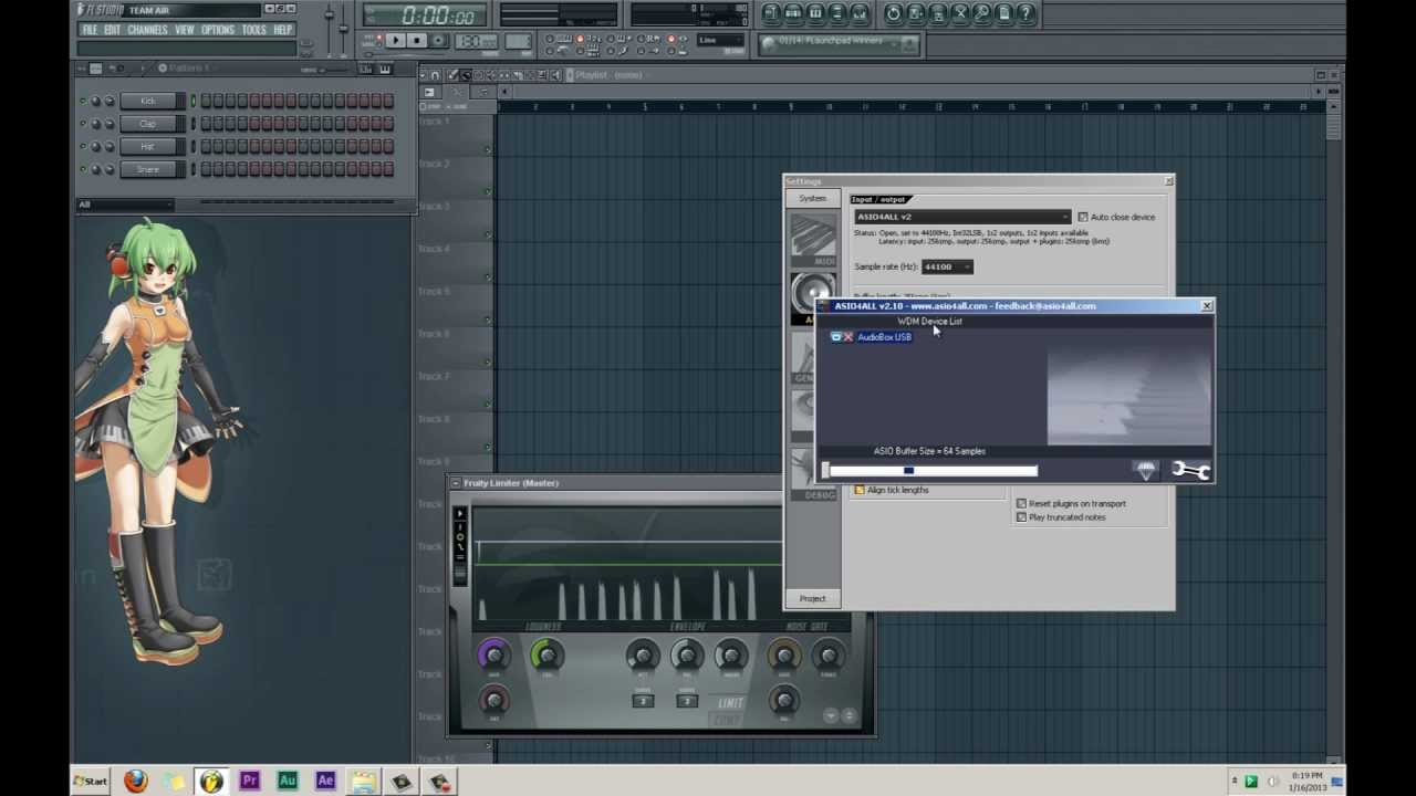 How to Set Up ReWire in FL Studio : Ask.Audio