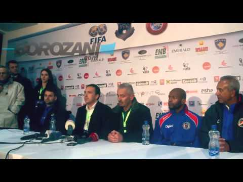 Kosovo - Haiti post-match press conference