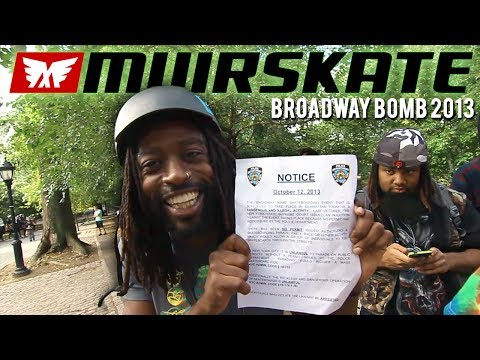Muirskate Longboard Shop | Broadway Bomb 2013 Trailer
