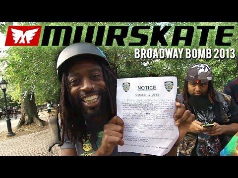 Muirskate Longboard Shop   Broadway Bomb 2013 Trailer
