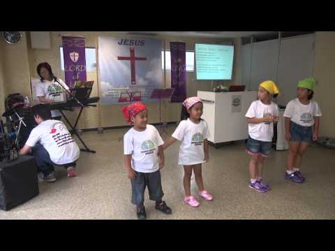 TODAY IS THE DAY DANCE KIDS - TAGALOG OPENING CHURCH FLAME REVIVAL JAPAN 2014