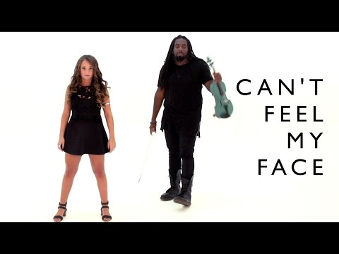 The Weeknd - Can't Feel My Face (cover by DSharp and Ali Brustofski)