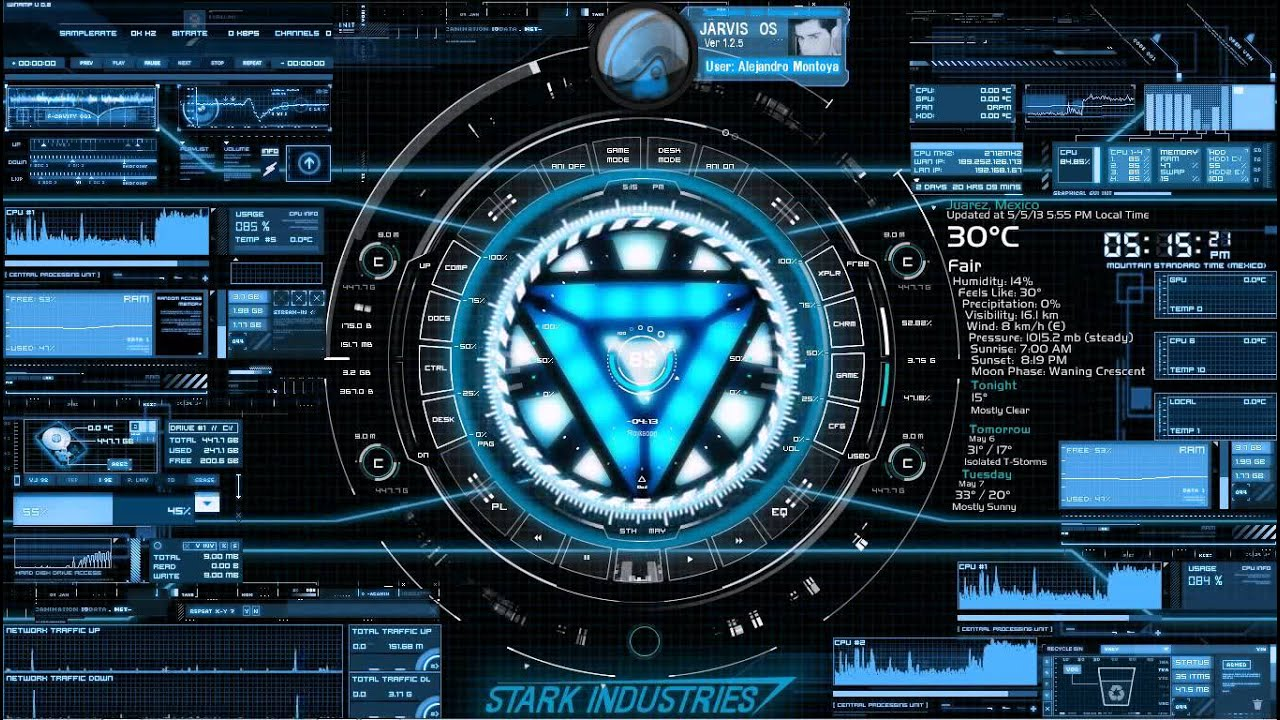 Stark Industrie... J.a.r.v.i.s Michael C's Jarvis Program