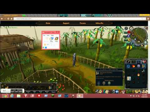 Runescape How to bot use a Mouse Recorder to bot - YouTube