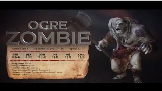 Sword Coast Legends: Monster Showcase - Ogre Zombie