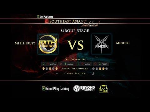 GoodPlay DotA 2 Tournament | Mith.Trust vs GIGABYTE.Mineski BO2