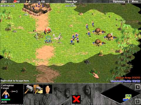 Age of Empires: The Rise of Rome Demo Campaign Mission 1 Part 1 (of 1)