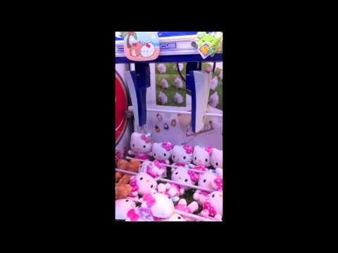 UFO Catcher Win UFOキャッチャー [Hello Kitty}