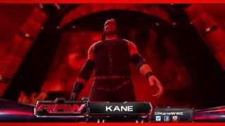 Kane WWE 2K14 Entrance And Finisher (Official)