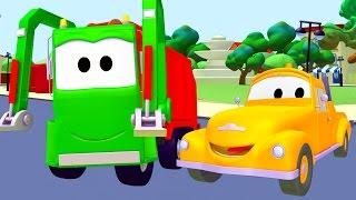 Od�ahov�k a smetiarske auto