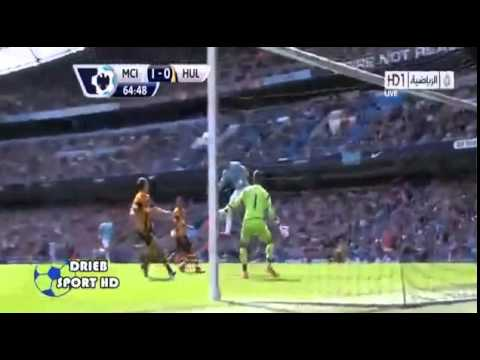 Manchester City 2-0 Hull City/ ALL GOALS & HIGHLITS 31.08.2013