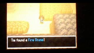 Pokemon Black And White 2 How To Get A Fire Stone And