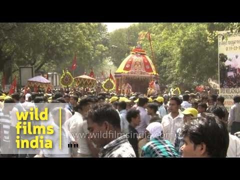 The chariot festival of India: Jagannath Rath Yatra in Delhi