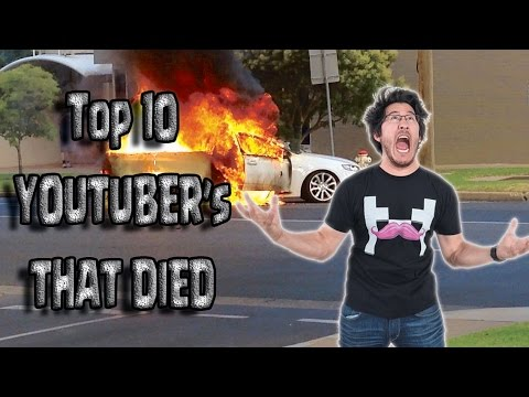 Top 10 Youtubers That Died