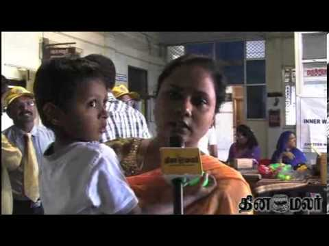 Second phase of polio immunization news in Dinamalar Video Dated Feb 23rd 2014