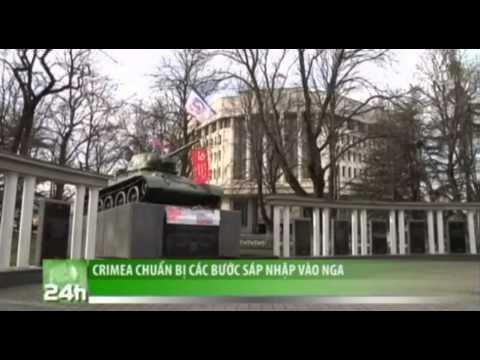 VTC14_Crimea chuẩn bị các bước sáp nhập vào Nga