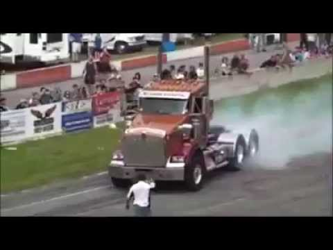 Semi Truck Drag Races
