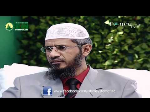 Taraweeh explained - Dr Zakir Naik 2012