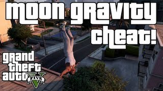 GTA 5: Moon Gravity Cheat XBOX 360 & PS3!