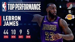 LeBron James DROPS 44 & Passes Wilt Chamberlain On All-Time Scoring List | November 14, 2018