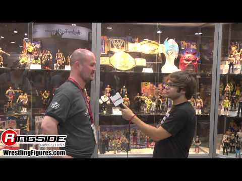 Mattel WWE SDCC 2014 Figure Display Walk Through w/ Bill Miekina