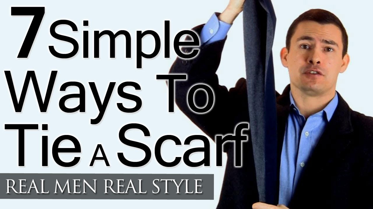 Man s guide to tying a scarf 7 simple ways to tie scarves man