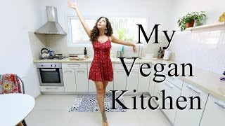 My Vegan Kitchen Tour
