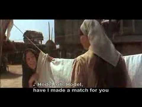 Fiddler On The Roof Matchmaker With Subtitles Youtube