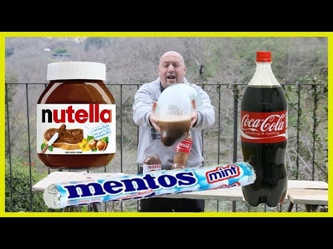 how to make a volcano explode with coke and mentos