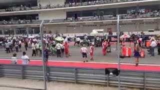Jorge Lorenzo Jump Start Moto GP 2014 AUSTIN