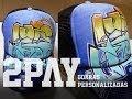 Gorra con Graffiti (Pintado a Mano) | 2PAY (Callao-Perú)