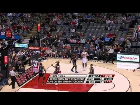 Indiana Pacers vs Toronto Raptors | April 4, 2014 | Full Game Highlights | NBA 2013-2014 Season