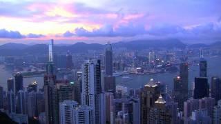 Hong Kong island  tour in stunning  HD