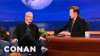 Jim Gaffigan is Extremely Pale: Conan on Tbs