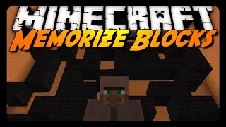 Minecraft: MEMORIZE BLOCKS! (Downloadable Mini-Game)