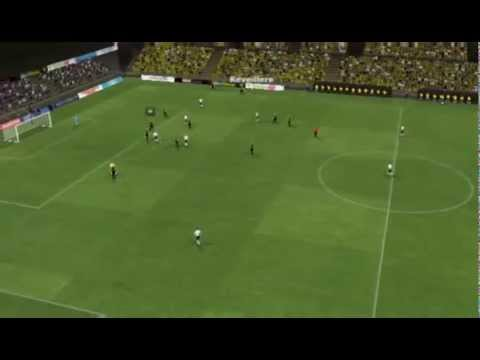 But magnifique de Maxime Gonalons contre Lierse en match amical sur Football manager 2013