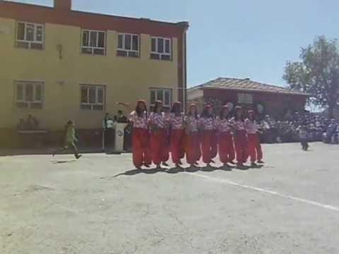 mardin savur  başkavak köyü 23 nisan gösterisi 2012