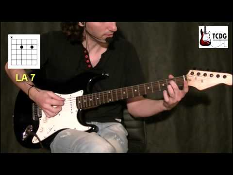 COMO TOCAR BLUES EN GUITARRA: LOS ACORDES DEL BLUES / VIDEO PARA APRENDER COMO TOCAR GUITARRA TCDG