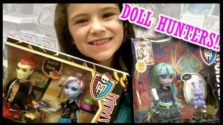 Monster High Doll Hunting For 13 Wishes: Twyla, Gigi