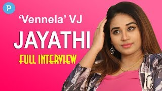 TV Anchor turned Cine Actress Jayathi Exclusive Interview