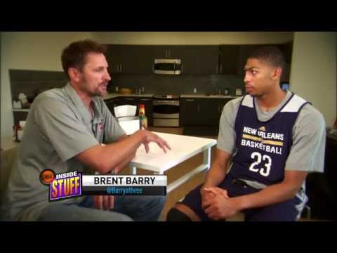 Anthony Davis Sits Down With Brent Barry on Inside Stuff