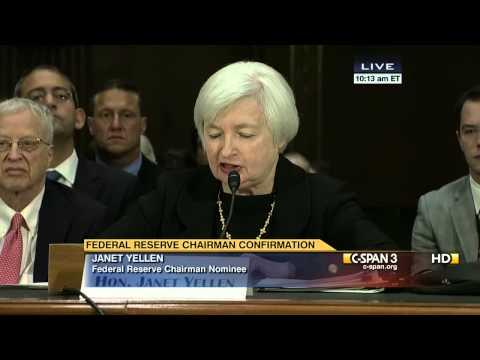 Janet Yellen Opening Statement (C-SPAN)