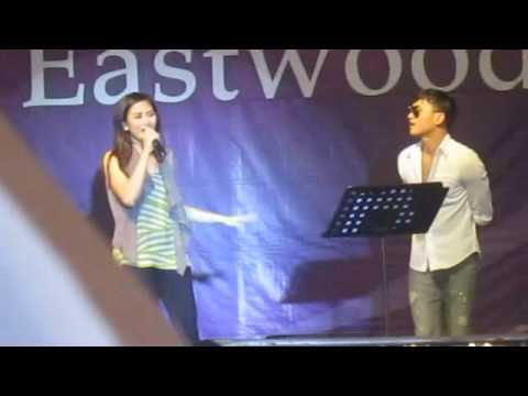 Sarah Geronimo  & kean Cipriano BATA - @ Eastwood Mall Concierge (One Heart Album tour)