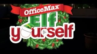 How To Elf Yourself By OfficeMax IPad App Video Demo