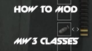MW3 Mods How TO Mod Modern Warfare 3 (MW3) Private Match