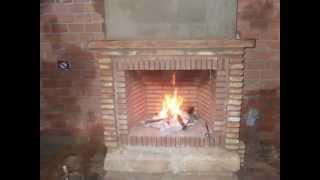 Como hacer una chimenea r stica de ladrillos videos de chimeneas clips de chimeneas - Embocaduras de chimeneas ...