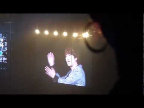[fancam] 120513 SS4 in Tokyo - Kyuhyun teaching the You & I dance (ft Super Junior members)