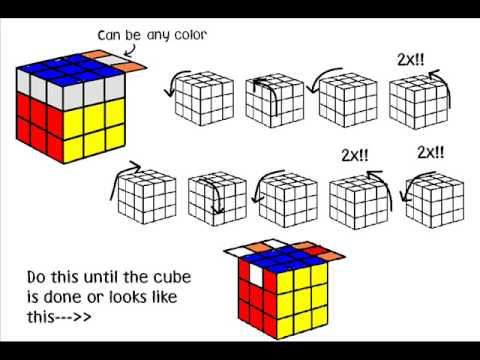 Rubik Cube easy solution guide Part 2 (last part)